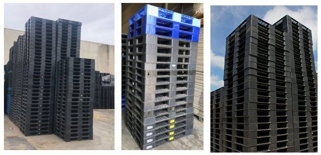 Second Hand Full Style Plastic Pallets